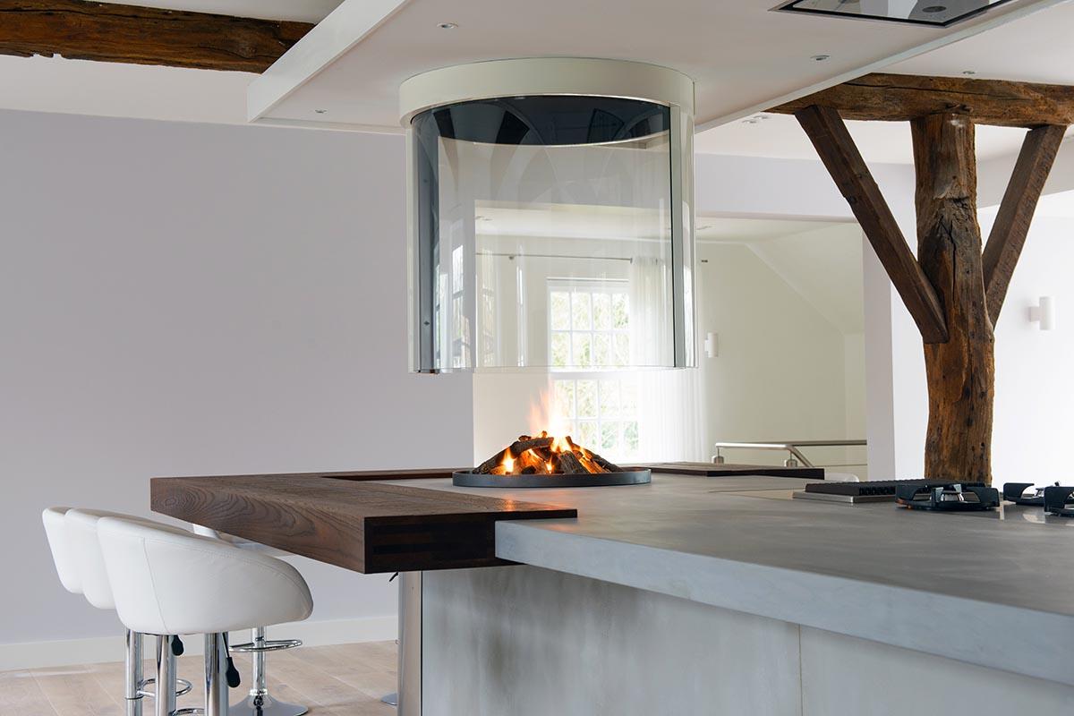 keukeneiland van teawood beton jp walker keukens. Black Bedroom Furniture Sets. Home Design Ideas