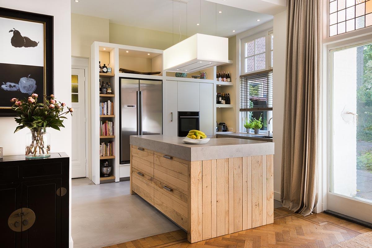 Keuken Eiken Houten : Een ruw eiken houten jp basic keuken van jp walker