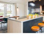 Moderne keuken, blauwstaal, JP Walker, Keuken, Kitchen, design, inductiekookplaten, nespresso,