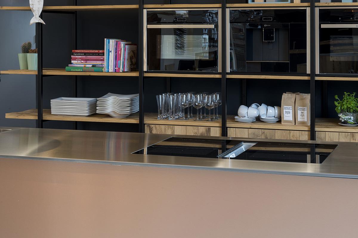 Koperen keuken met warme en eigentijdse uitstraling van jp walker