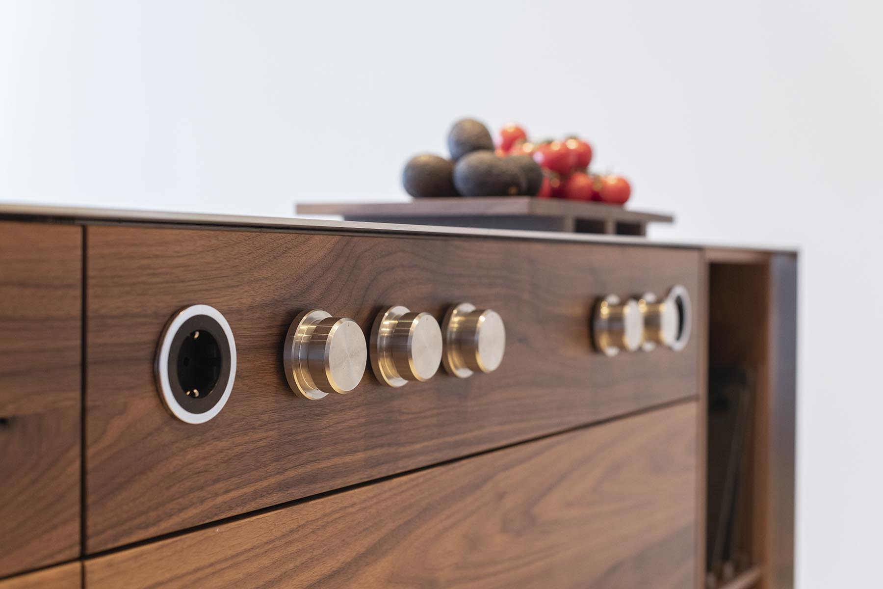 noten houten keuken